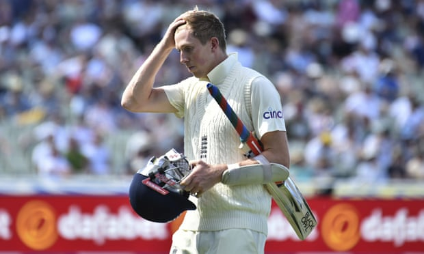Zak Crawley's confusion is a symptom of England's top-order batting malaise